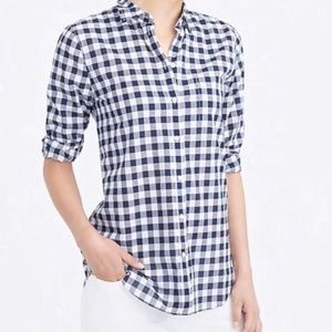 Cloth & Stone | Navy & White Gingham Button Down